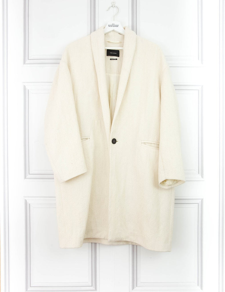ISABEL MARANT CLOTHING Buttoned coat with pockets- My Wardrobe Mistakes