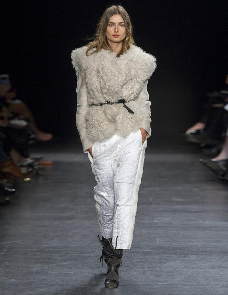 ISABEL MARANT CLOTHING Drew Belted Shearling Jacket- My Wardrobe Mistakes