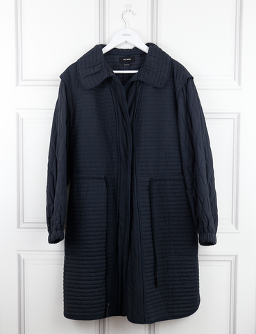 ISABEL MARANT CLOTHING Light padded coat- My Wardrobe Mistakes