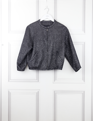 ISABEL MARANT CLOTHING Light shiny bomber