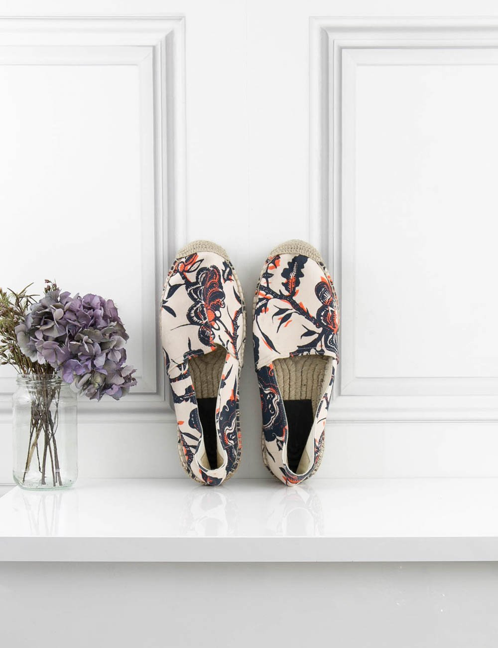 ISABEL MARANT SHOES Neon Printed Cotton Espadrilles- My Wardrobe Mistakes
