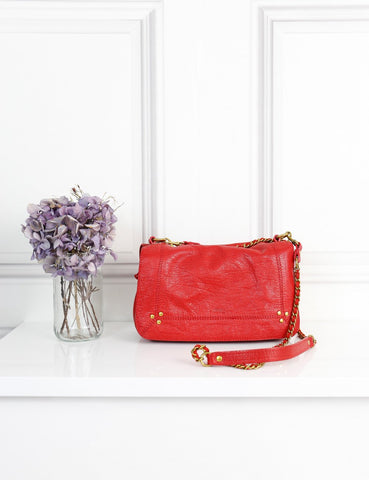 Jerome Dreyfuss red Bobi cross body bag- My Wardrobe Mistakes