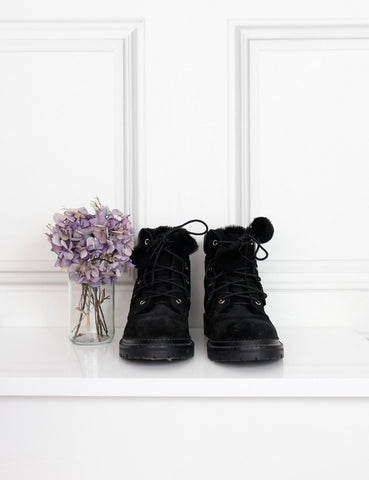 Jimmy Choo black Elba 30 boots 5.5Uk