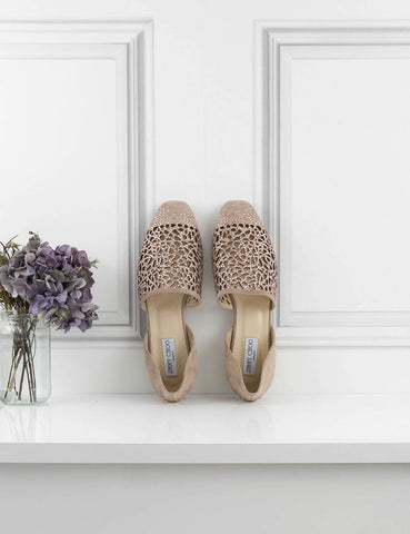 JIMMY CHOO SHOES Globe flat shoes- My Wardrobe Mistakes