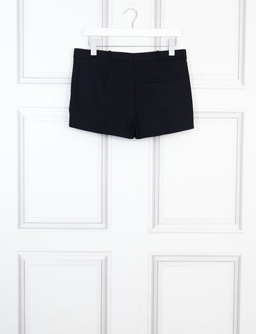 Joseph black wool mini shorts 10 Uk- My Wardrobe Mistakes