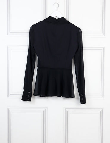 LA PERLA Long sleeves silk shirt
