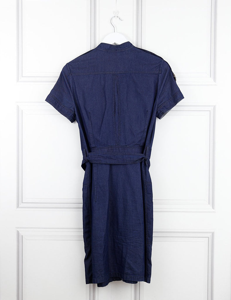 Lanvin blue denim belted dress 10UK- My Wardrobe Mistakes