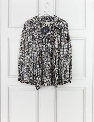 LANVIN CLOTHING Loose fit silk shirt