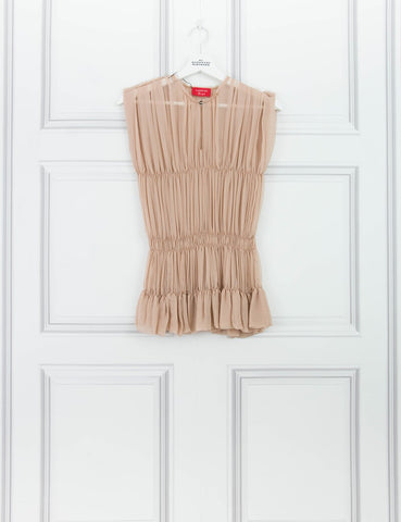 LANVIN CLOTHING Pale silk top