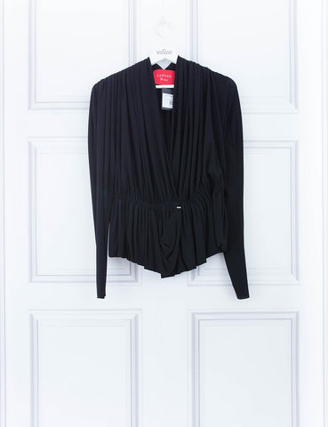 LANVIN CLOTHING Pleated cape jacket