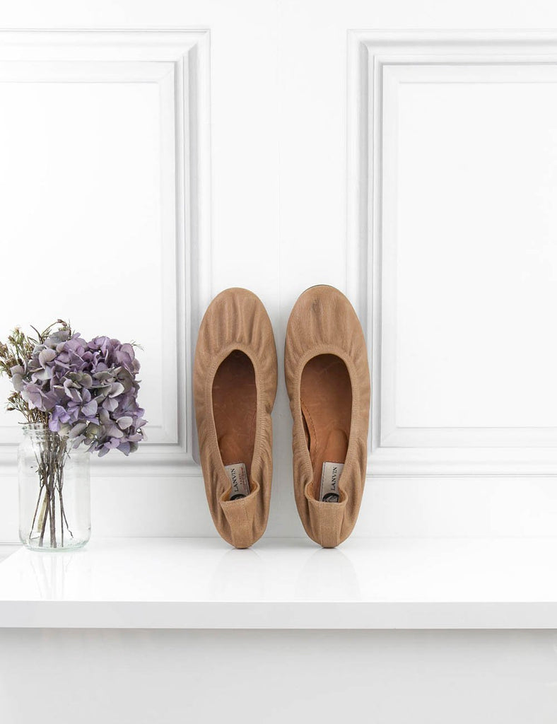 LANVIN SHOES Ballet pumps 7UK- My Wardrobe Mistakes
