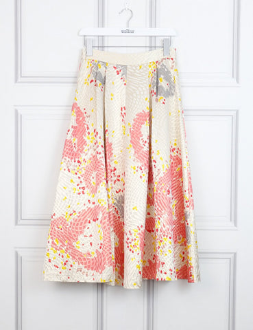 LK Bennett multicolour Gardo skirt 10Uk