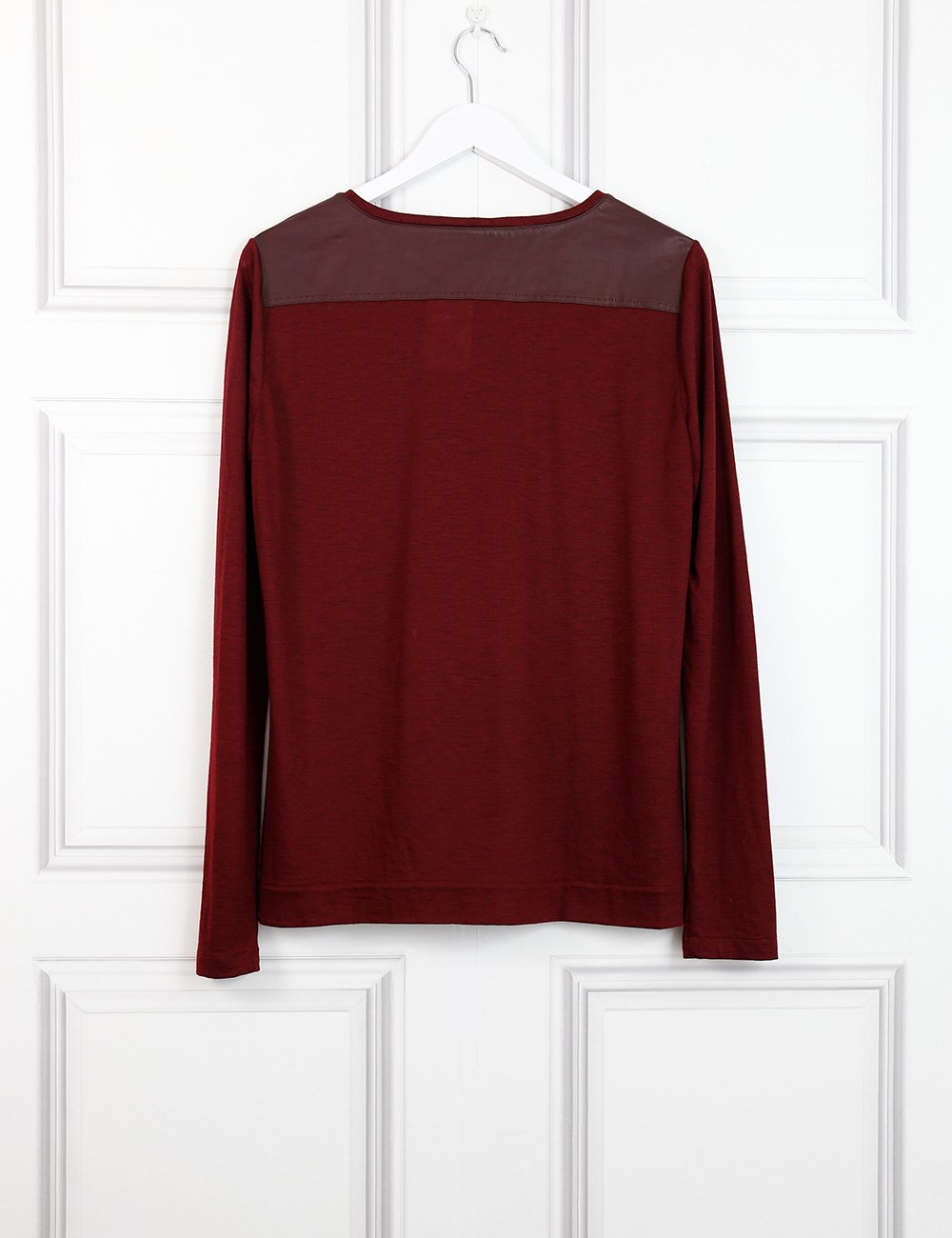 Loro Piana red cashmere top 14 Uk- My Wardrobe Mistakes