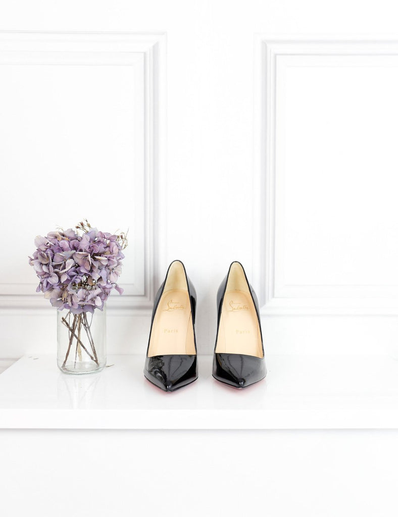 Louboutin black Pigalle 100 patent pumps 3Uk- My Wardrobe Mistakes