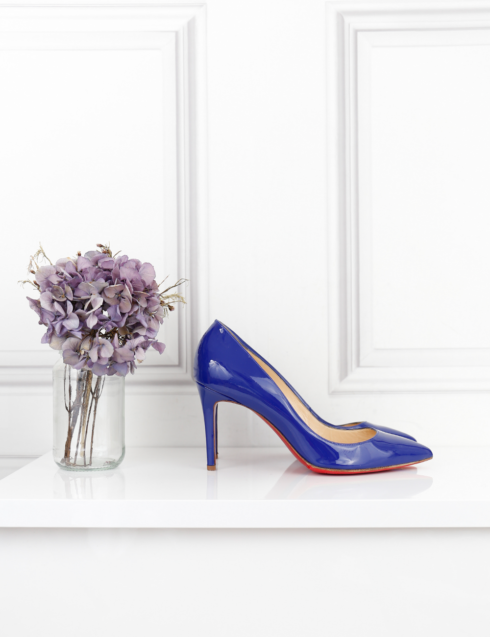 LOUBOUTIN SHOES Pigalle heel pumps