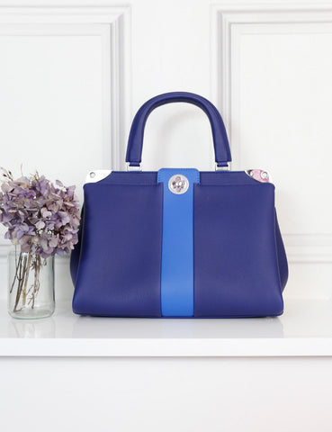 Louis Vuitton blue Astrid 2Way bag- My Wardrobe Mistakes