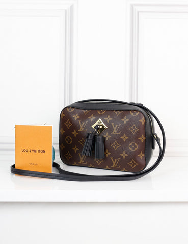 LOUIS VUITTON BAGS One size / Multicolour LOUIS VUITTON Monogram Saintonge Bag noir
