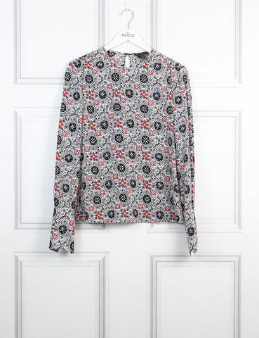 Louis Vuitton logo blouse 10 Uk