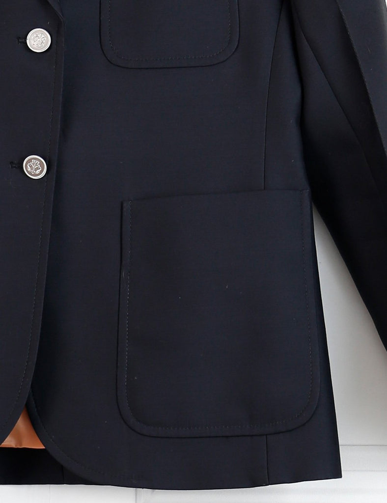 Louis Vuitton black tailored jacket with large pockets 8UK- My Wardrobe Mistakes