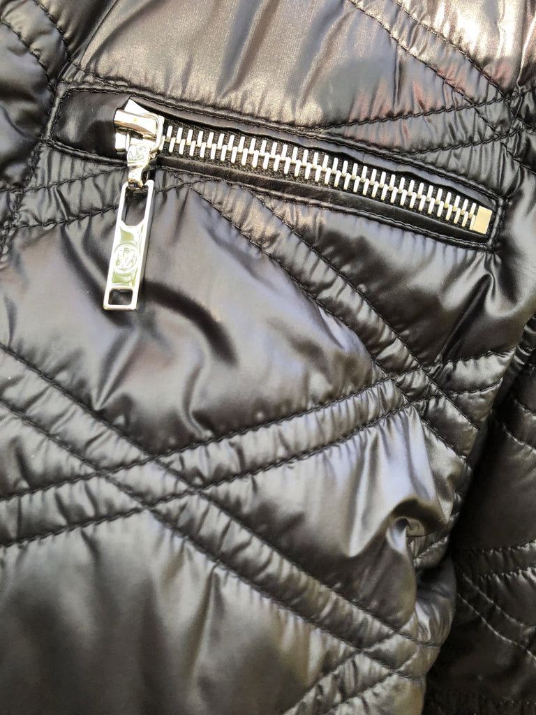 Louis Vuitton black ski jacket 6UK- My Wardrobe Mistakes