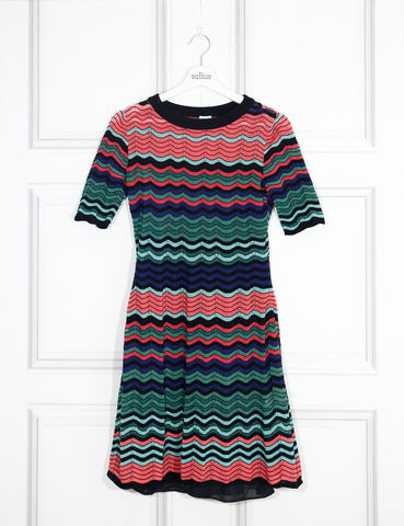 M by Missoni multicolour short dress 8UK- My Wardrobe Mistakes