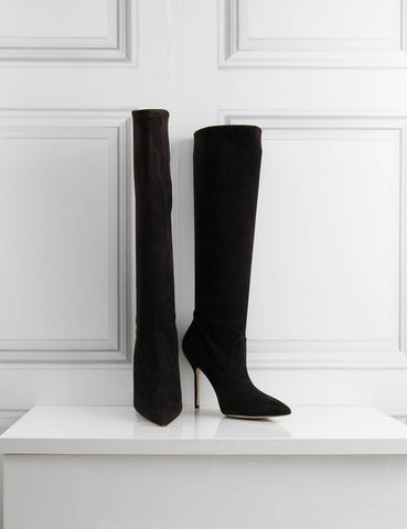 MANOLO BLAHNIK knee-high boots- My Wardrobe Mistakes