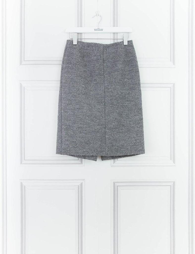 MARC BY MARC CLOTHING Woolen Pencil Skirt