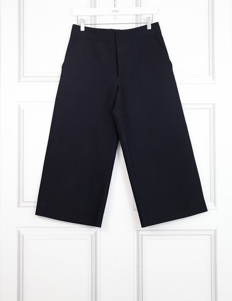 Marni black cropped tailored trousers- My Wardrobe Mistakes
