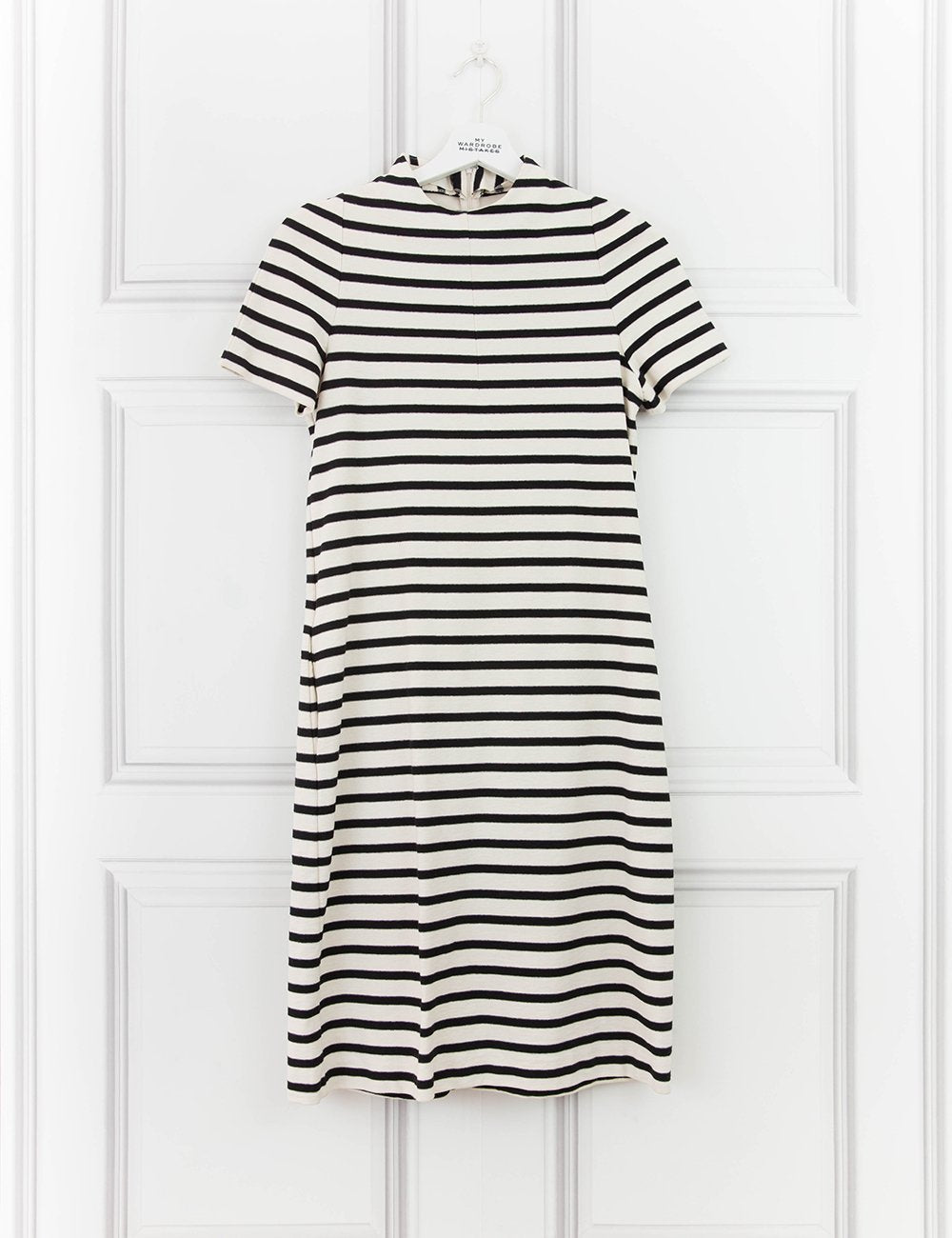 MARNI CLOTHING Breton stripes mini dress