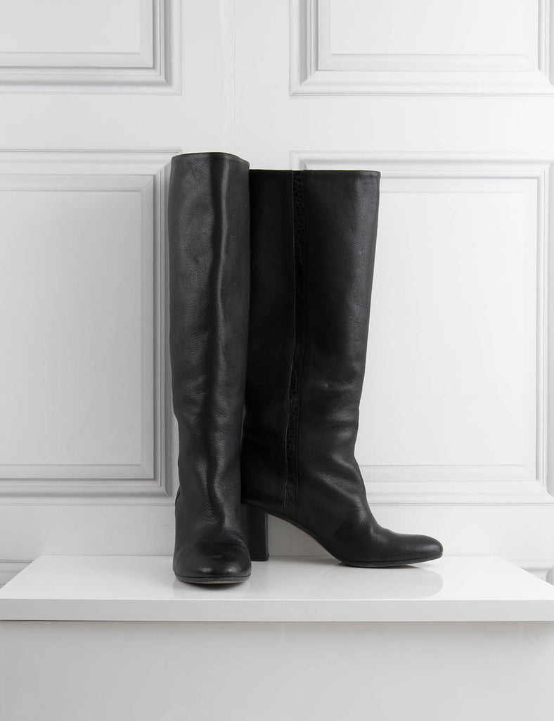 MARTIN MARGIELA SHOES Knee high leather boots- My Wardrobe Mistakes
