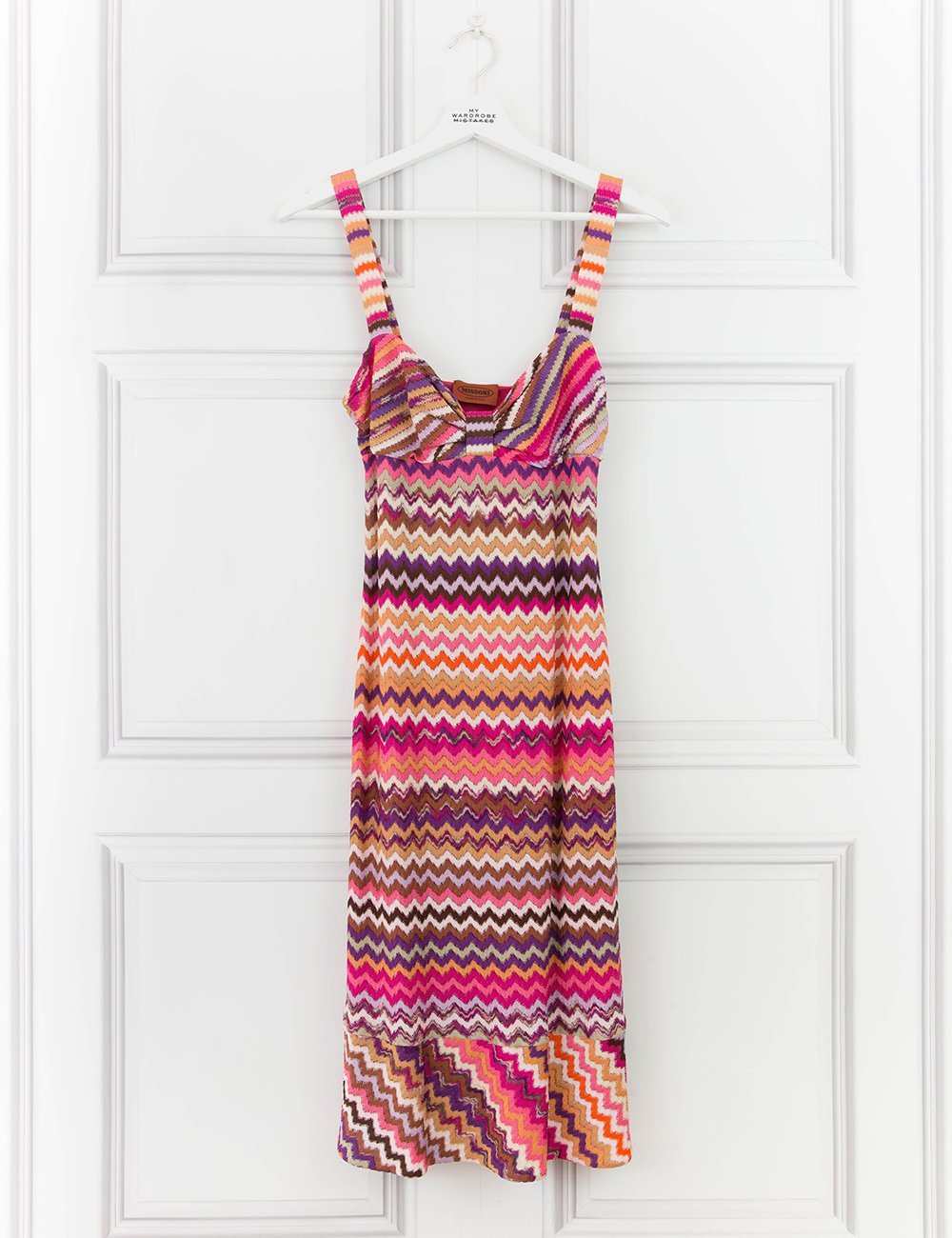 MISSONI CLOTHING Multicoloured woven dress