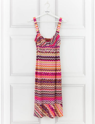 MISSONI CLOTHING Multicoloured woven dress 10UK- My Wardrobe Mistakes