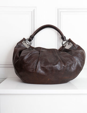 MIU MIU BAGS One size / Brown MIU MIU Shoulder hobo bag