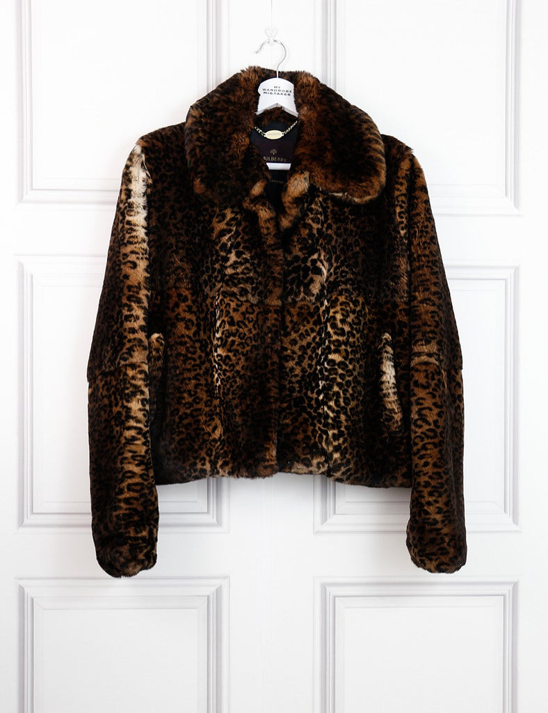 Mulberry multicolour animal print jacket 6UK- My Wardrobe Mistakes