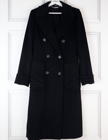 My Wardrobe Mistakes ALEXANDER McQUEEN Cashmere-Wool Blend Double Breasted Coat