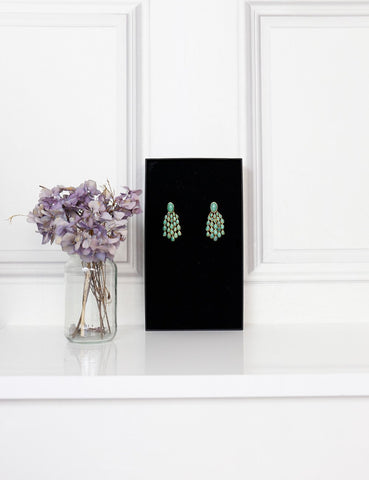 My Wardrobe Mistakes AURELIE BIDERMANN Turquoise drop earrings