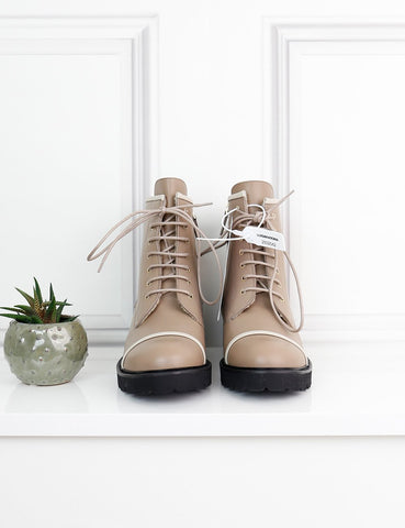 My Wardrobe Mistakes MALONE SOULIERS Bryce leather combat boots