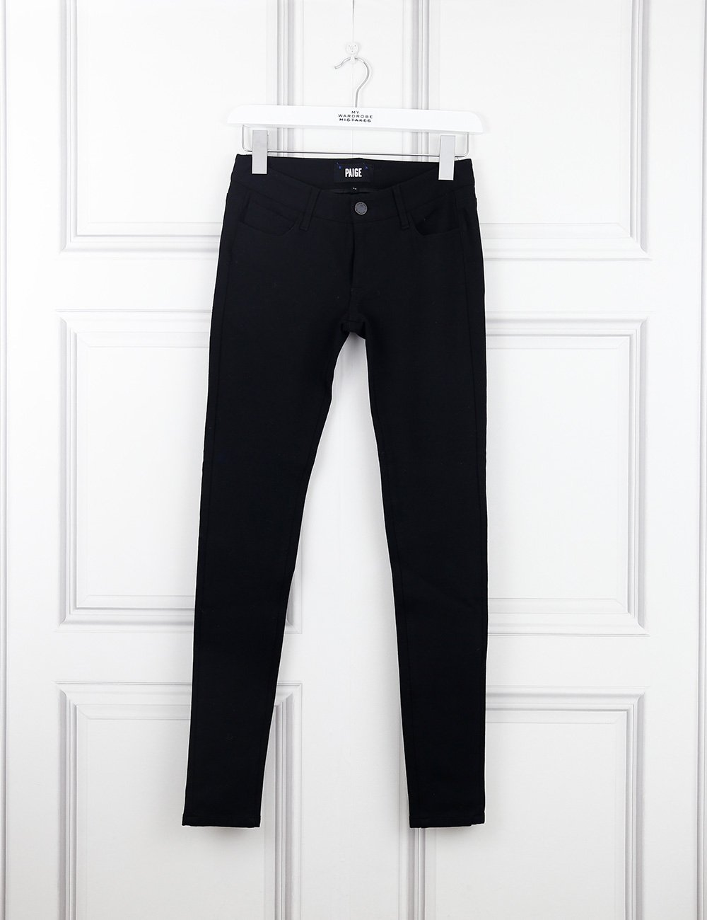 Paige black skyline skinny jeans 8UK- My Wardrobe Mistakes