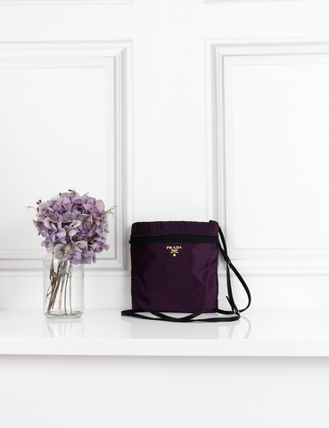 PRADA BAGS purple Small shoulder bag- My Wardrobe Mistakes