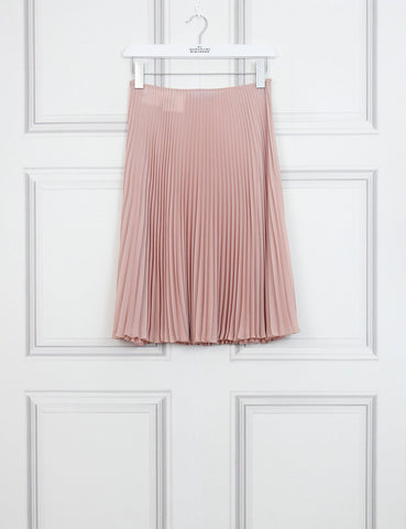 Prada pink pleated skirt 8Uk