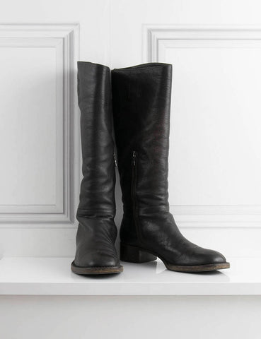 PRADA SHOES Riding flat boots- My Wardrobe Mistakes
