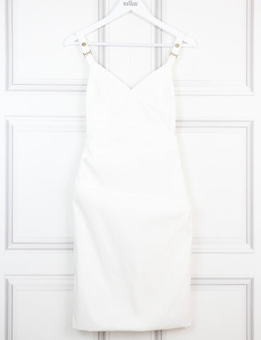 Preen white Audra dress 10 Uk- My Wardrobe Mistakes