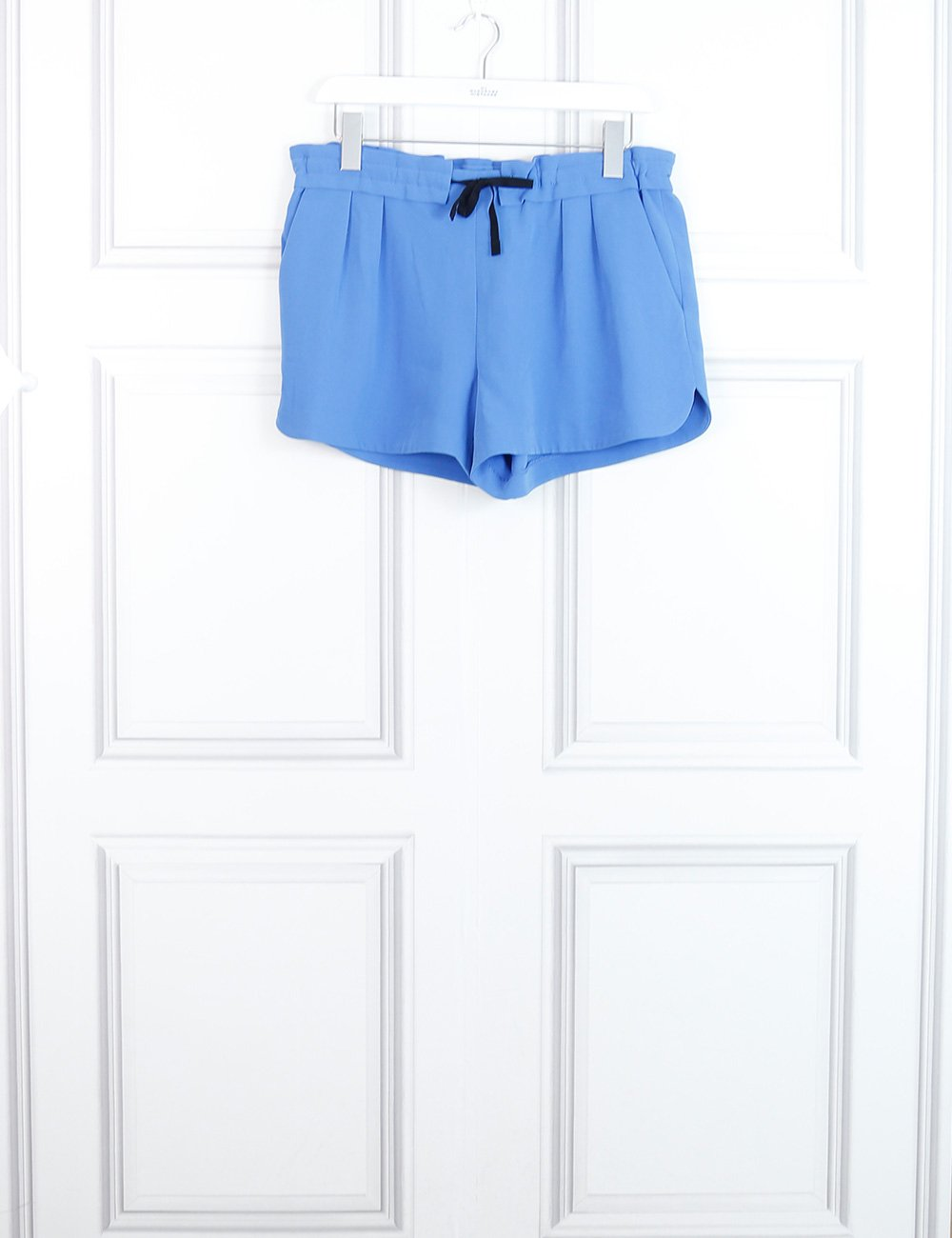 Rag&Bone blue elastic shorts 10 Uk- My Wardrobe Mistakes
