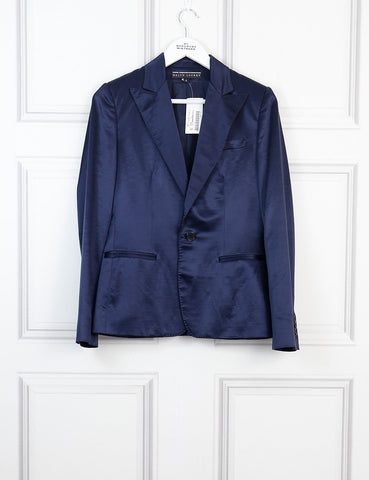 Ralph Lauren blue Denise jacket 10 Uk- My Wardrobe Mistakes