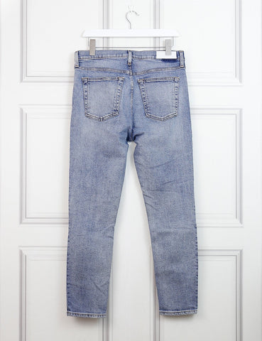 Re/Done blue denim jeans 12 UK- My Wardrobe Mistakes