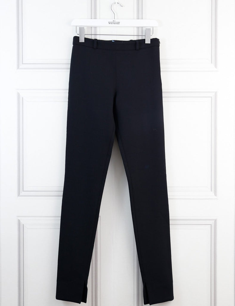 Roland Mouret black Mortimer tailored trousers 10Uk