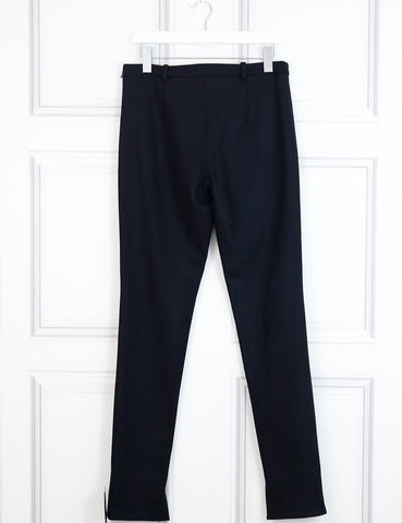 Roland Mouret black woollen trousers 12 Uk- My Wardrobe Mistakes