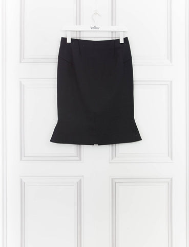 ROLAND MOURET CLOTHING Black pencil skirt 12UK- My Wardrobe Mistakes