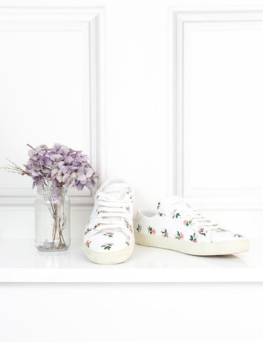 SAINT LAURENT SHOES 7UK-40IT-41FR / Multicolour SAINT LAURENT Floral sneakers