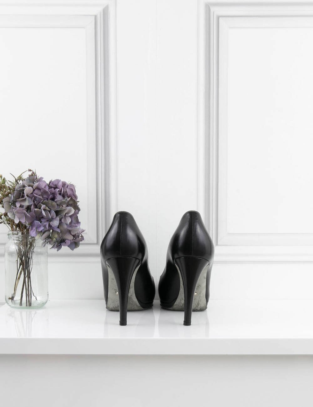 SERGIO ROSSI SHOES Classic pump with platfrom